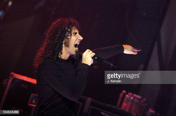 System Of A Down during MTV2 $2 Bill Concert Series Featuring System Of A Down November 22 2005 at Webster Hall in New York City New York United...