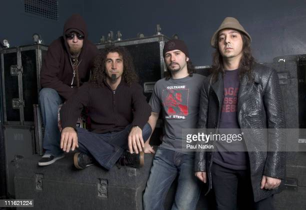 System of a Down during System of a Down Photocall May 3rd 2005 at Metro in Chicago Il United States