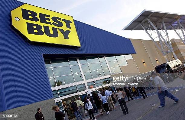 System of a Down fans line up to have the band sign copies of their new cd Mezmerize at Best Buy on May 17 2005 in Burbank California