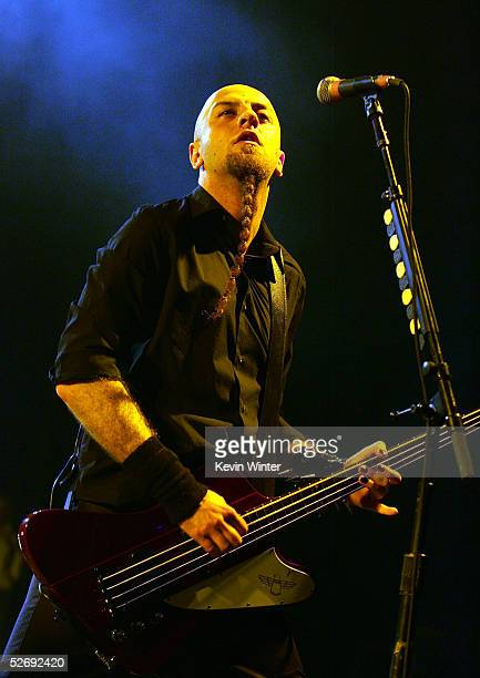 System of a Down with bass player Shavo Odadjian perform at Souls 2005 a concert to benefit organizations that work to eradicate genocides around the...
