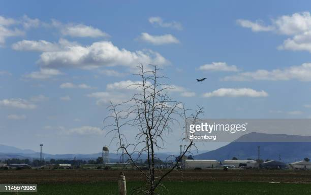 Systems Plc 'Typhoon' Eurofighter military jet takes off from the Moron Air Base in Arahal Spain on Wednesday March 13 2019 The relationship between...