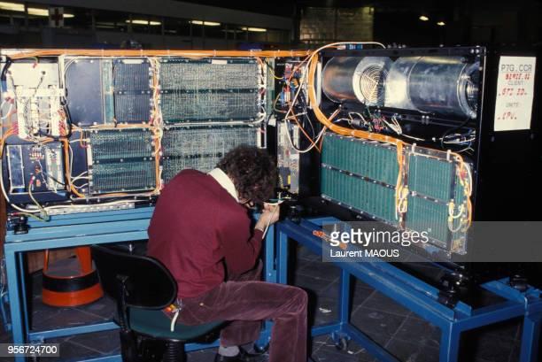 Système d'un ordinateur dans les années 1980 en France