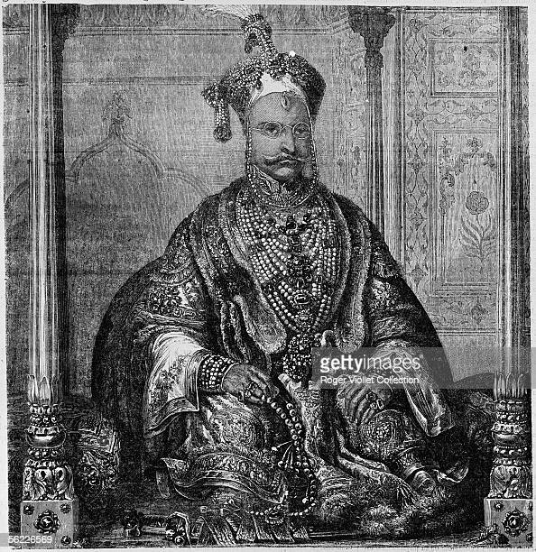 Syud Nunsoor Ali nabob of the provinces of Bengal Bihar and Orissa at the time of its visit in Paris in 1869