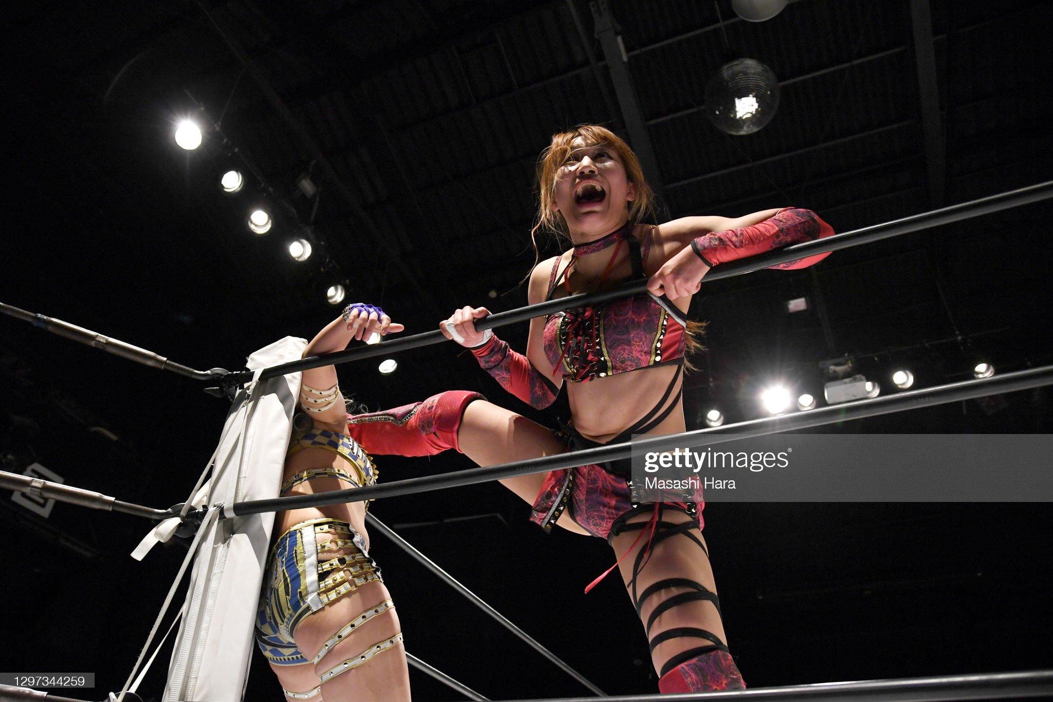 Women's Pro-Wrestling 'Stardom' : Fotografía de noticias