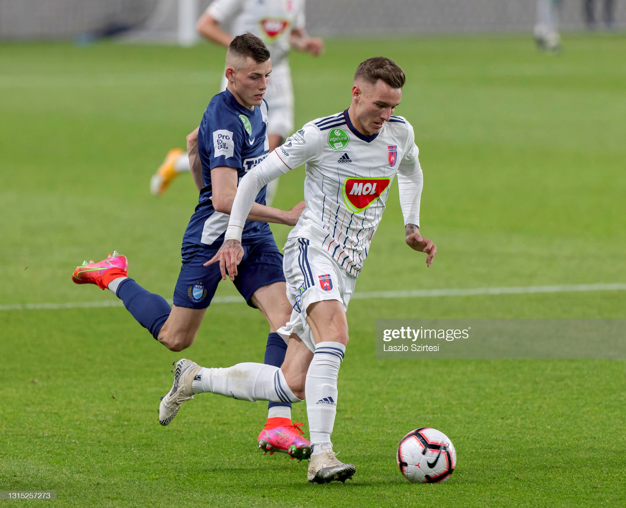 MTK Budapest v MOL Fehervar FC - Hungarian OTP Bank Liga : ニュース写真