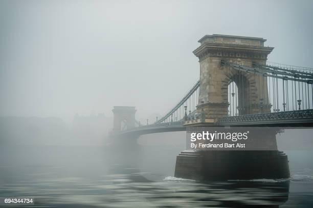 Széchenyi lánchíd, chain bridge, Budapest Hungary
