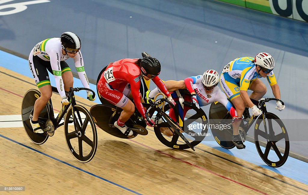 UCI Track Cycling World Championships - Day Two : News Photo