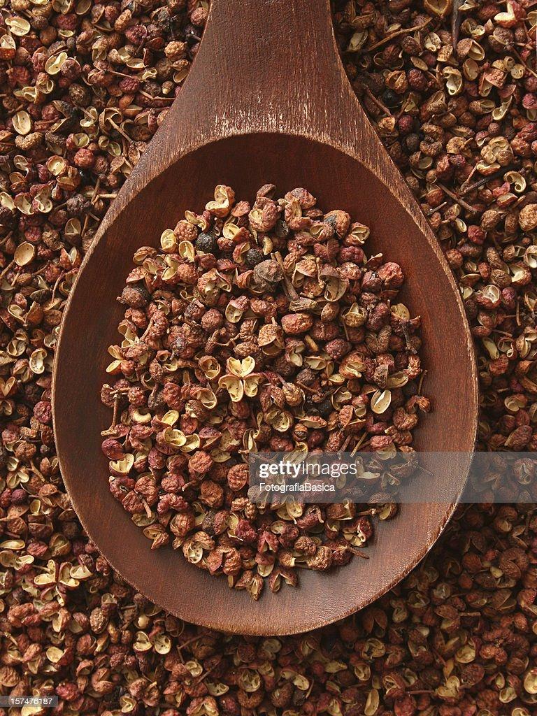 Szechuan peppercorns : Foto de stock