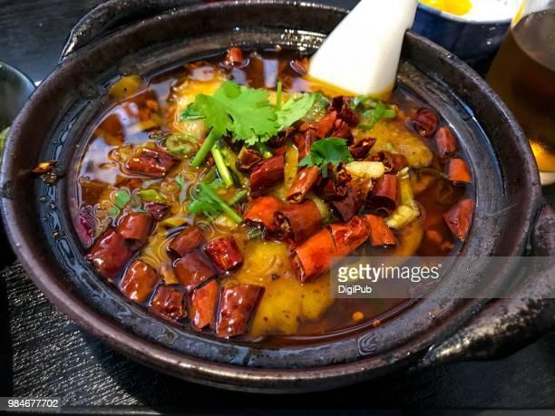 Szechwan cuisine shuizhu fish fillets