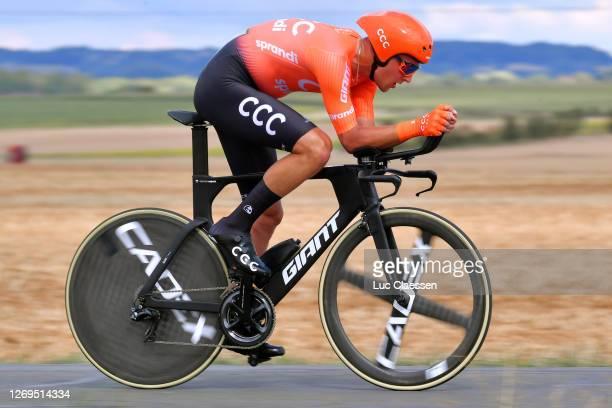 Szymon Sajnok of Poland and CCC Team / Heinrich Haussler of Australia and Team Bahrain - Mclaren / during the 33rd Tour Poitou-Charentes en Nouvelle...