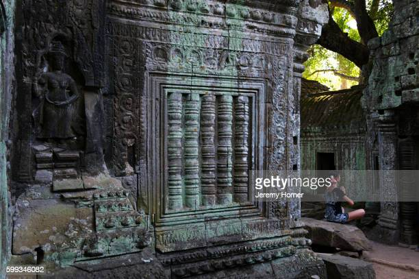 ta prohm, angkor temples, siem reap, cambodia - jeremy chan stock pictures, royalty-free photos & images
