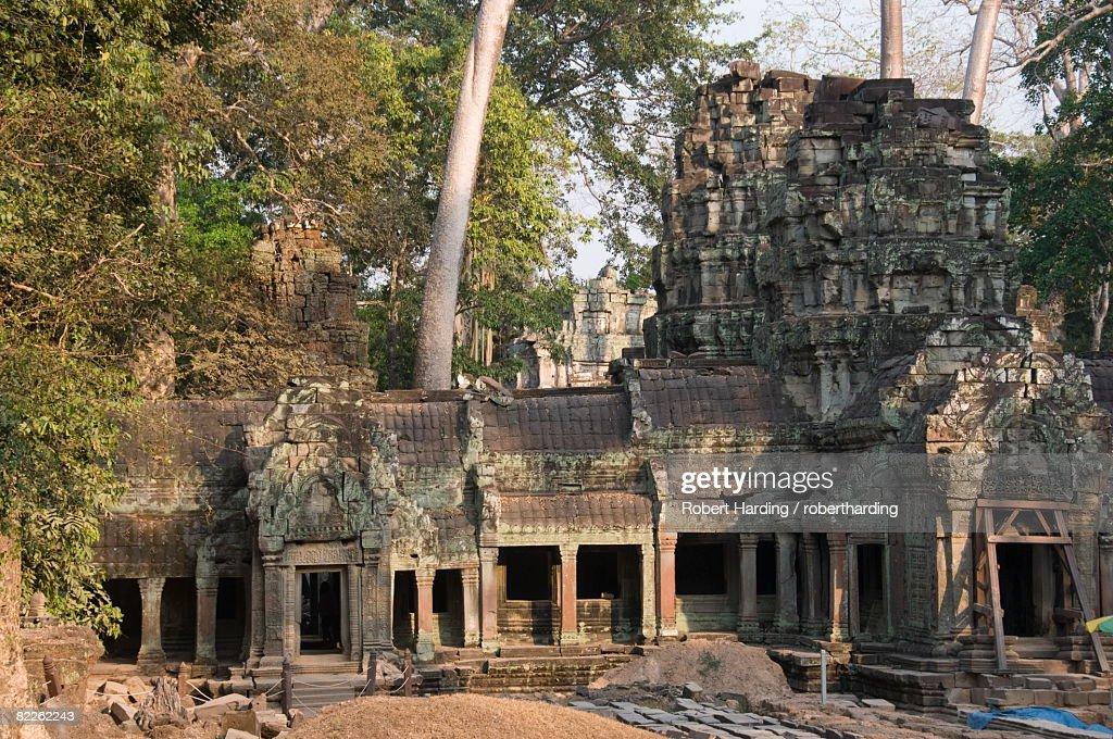 Ta Prohm Kei temple, Angkor Thom, Angkor, UNESCO World Heritage Site, Siem Reap, Cambodia, Indochina, Southeast Asia, Asia : Stock Photo
