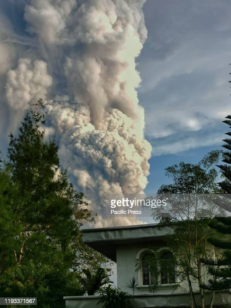 Taal Volcano in central island of Luzon and is the country's second most active volcano boomed to life on Sunday spilling volcanic ash Due to level 4...