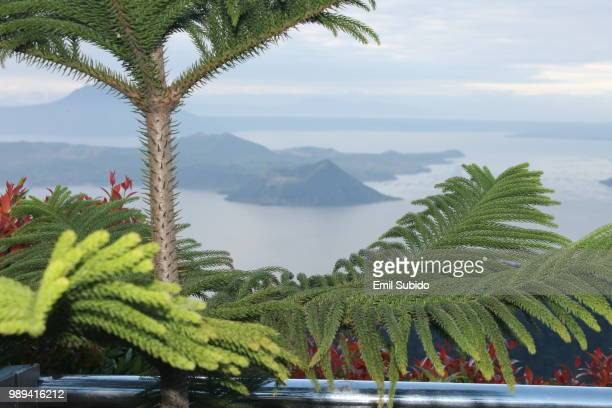 taal volcano, philippines - taal volcano stock photos and pictures