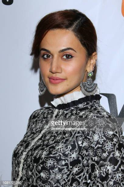 Taapsee Pannu attends the 'Husband Material' Premiere during 2018 the Toronto International Film Festival at Roy Thomson Hall on September 11 2018 in...