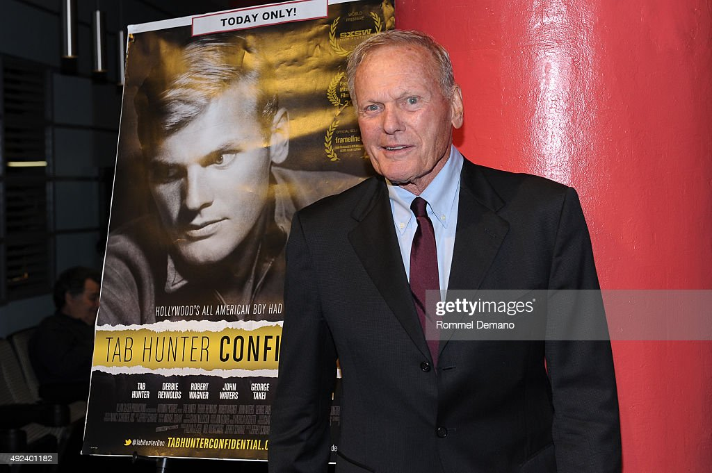 Tab Hunter attends 'Tab Hunter Confidential' special screening at Film Forum on October 12, 2015 in New York City.