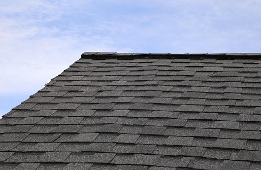 Tab styled asphalt roof shingles - gettyimageskorea
