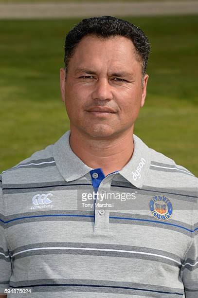 Tabai Matson Head Coach poses for a portrait during the Bath Rugby squad photo call for the 20162017 Aviva Premiership Rugby season on August 24 2016...