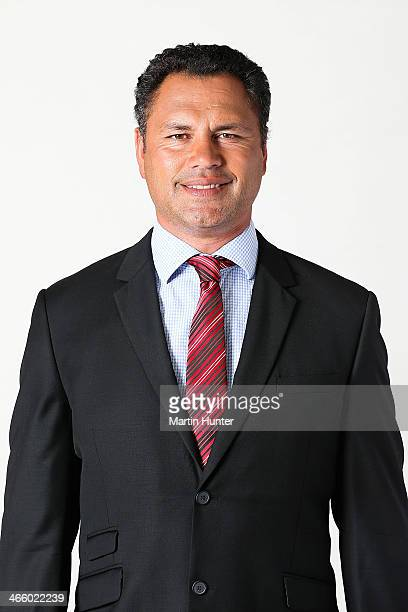 Tabai Matson poses during a Crusaders Super Rugby headshots session on January 31 2014 in Christchurch New Zealand