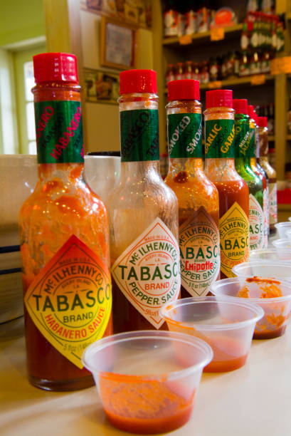 Tabasco Sampler at the McIlhenny Factory