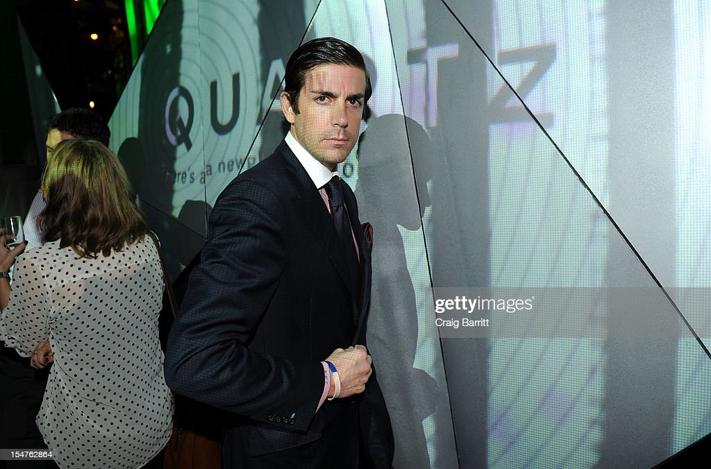 Tabber B. Benedict attends the Media Company Launch Party For Quartz on October 25, 2012 in New York City. (Photo by Craig Barritt/Getty Images for Quartz (qz.com))