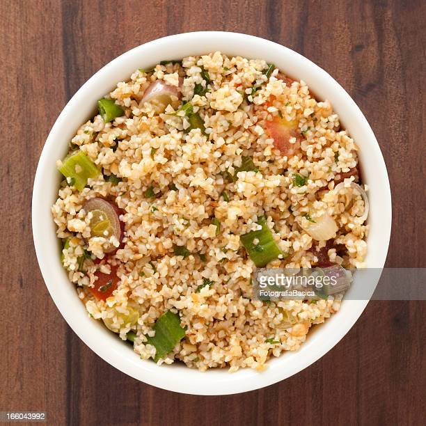 tabbouleh salad - tabbouleh stock pictures, royalty-free photos & images