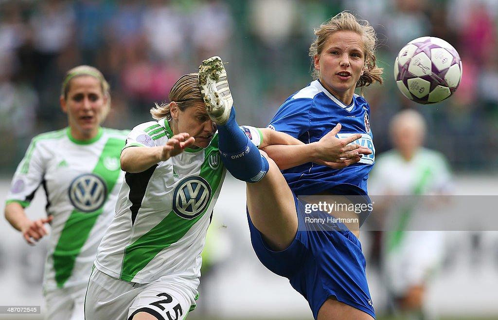 VfL Wolfsburg v 1. FFC Turbine Potsdam - UEFA Women's Champions Semi-Final 2nd leg