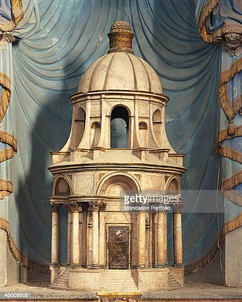 Tabernacle sketch by Barozzi Jacopo known as Vignola 1563 1565 16th Century marble