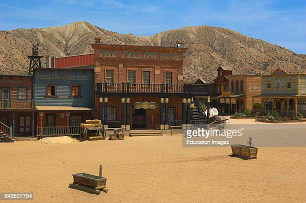 Tabernas Mini Hollywood Film set Desert of Tabernas Almeria Province Andalusia Spain