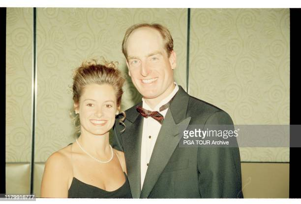 Tabitha and Jim Furyk Presidents Cup December Royal Melbourne Golf Club Black Rock Victoria Australia PGA TOUR Archive via Getty Images