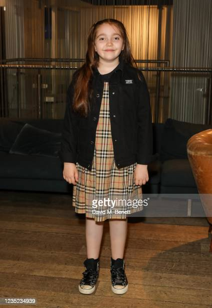 """Tabitha Byron attends a preview screening of """"Sweetheart"""" at the BFI Southbank on September 13, 2021 in London, England."""
