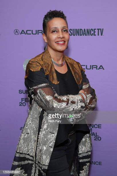 Tabitha Jackson attends the Awards Presenters Reception during the 2020 Sundance Film Festival at Basin Recreation Yoga Studio on February 01 2020 in...