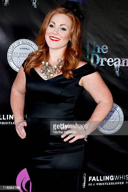 Tabitha Marsden arrives to the Falling Whistles benefit concert at King King in Hollywood California on July 6 2011
