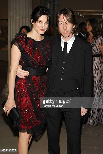Tabitha Simmons and Craig McDean attend The COSTUME INSTITUTE Gala in honor of 'POIRET KING OF FASHION' at The Metropolitan Museum of Art on May 7...
