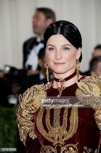 Tabitha Simmons attends Manus x Machina Fashion In An Age Of Technology Costume Institute Gala at