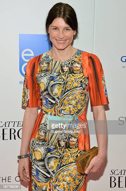 Tabitha Simmons attends the Cinema Society with Swarovski Grey Goose premiere of eOne Entertainment's Scatter My Ashes at Bergdorf's at Florence...