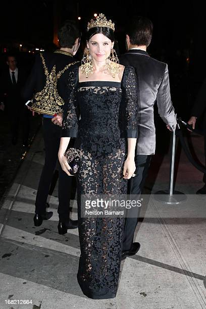 Tabitha Simmons attends the PUNK Chaos To Couture Costume Institute Gala after party at The Standard hotel on May 6 2013 in New York City
