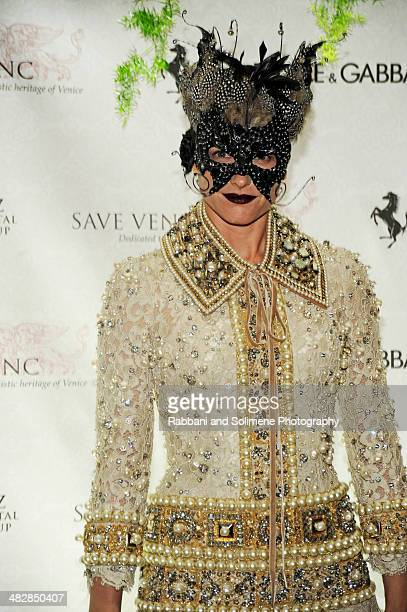 Tabitha Simmons attends the Save Venice Enchanted Garden Ball at The Pierre Hotel on April 4 2014 in New York City