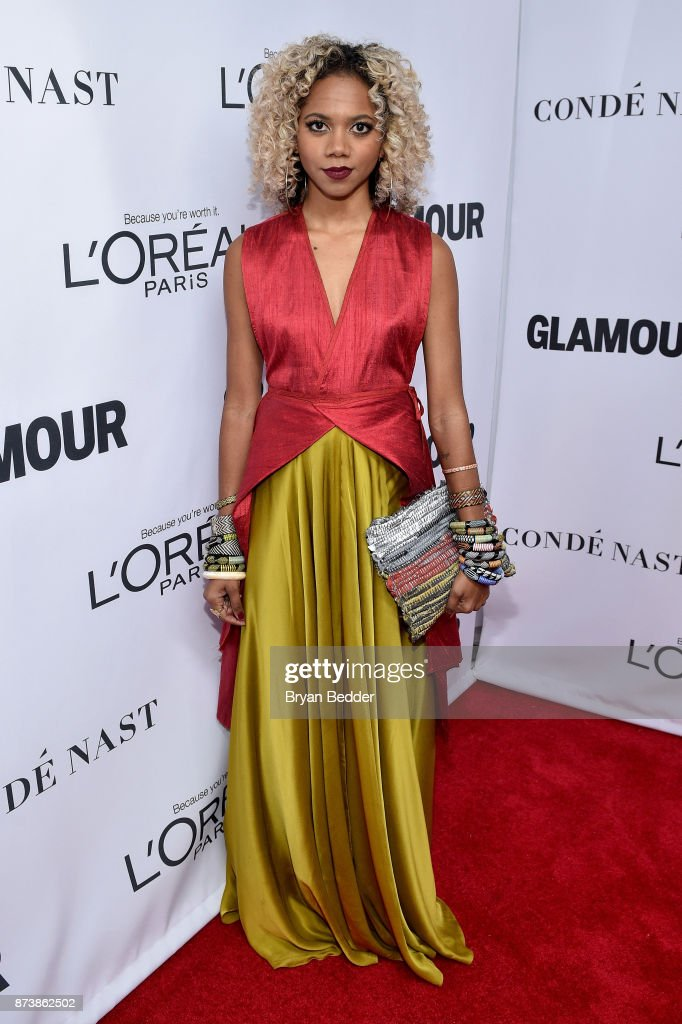 Tabitha St. Bernard attends Glamour's 2017 Women of The Year Awards at Kings Theatre on November 13, 2017 in Brooklyn, New York.