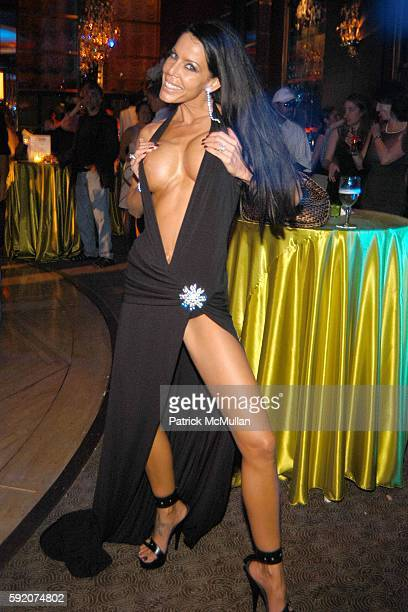 Tabitha Stevens attends Richard Beckman and Conde Nast after party for Fashion Rocks at Rainbow Room on September 8 2005 in New York City
