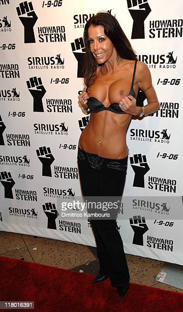 Tabitha Stevens during Howard Stern Last Day Live Event Arrivals at Hard Rock Cafe Times Square in New York City New York United States