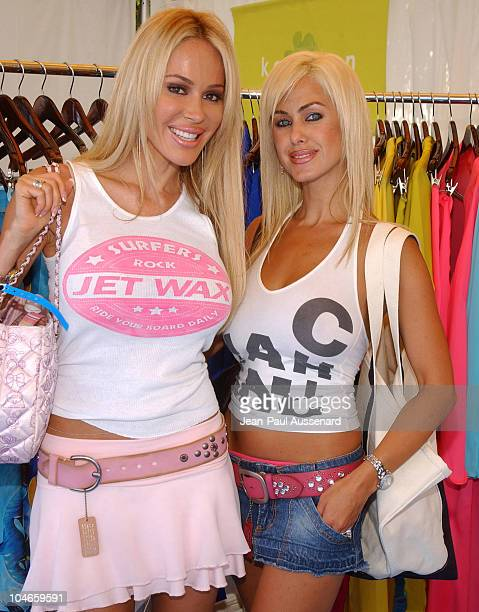 Tabitha Taylor and Shauna Sand at Maggie Coulombe Photo by JeanPaul Aussenard/WireImage for Silver Spoon