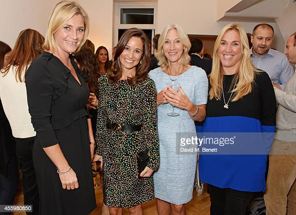 Tabitha Webb Pippa Middleton Morwenna Hocking and Jules Somerset Webb attend the launch of designer and entrepreneur Tabitha Webb's first retail...