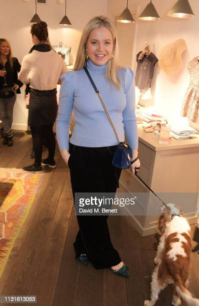 Tabitha Willett attends a party celebrating Bonpoint x The Grace Tales at the Bonpoint Marylebone store on March 19 2019 in London England