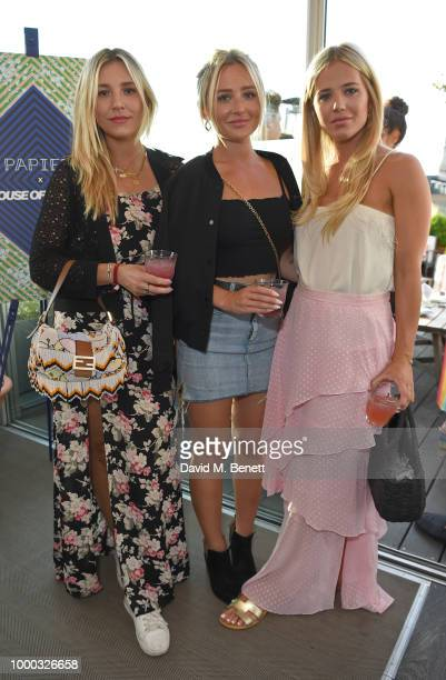 Tabitha Willett attends the launch of the collaboration between House of Holland Papier on July 16 2018 in London England The collaboration came...