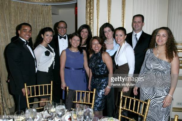 Table 35 attend BALLET HISPANICO'S 40th Anniversary Spring Gala at the Plaza Hotel on April 19th 2010 in New York City