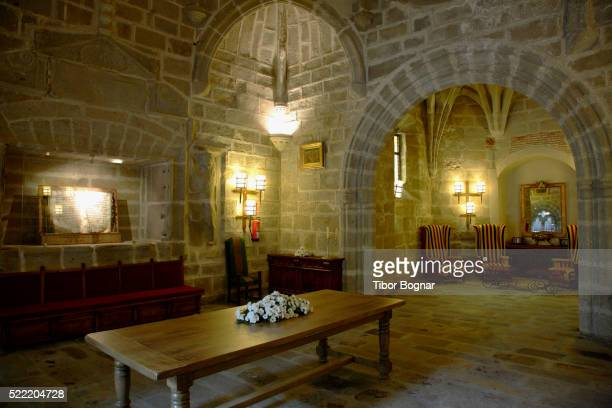 Table and Chairs in Parador Hotel