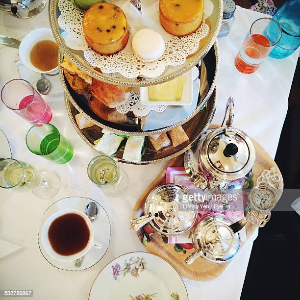 Table At Tea Party
