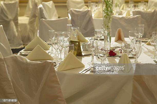 Table at the party