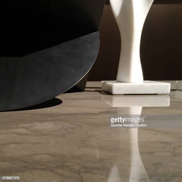 Table By Ceramic Furniture On Floor
